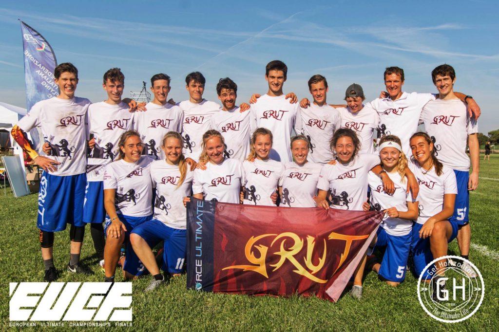 Klubowe Mistrzostwa Europy w Ultimate Frisbee - drużyna GRUT z Holandii