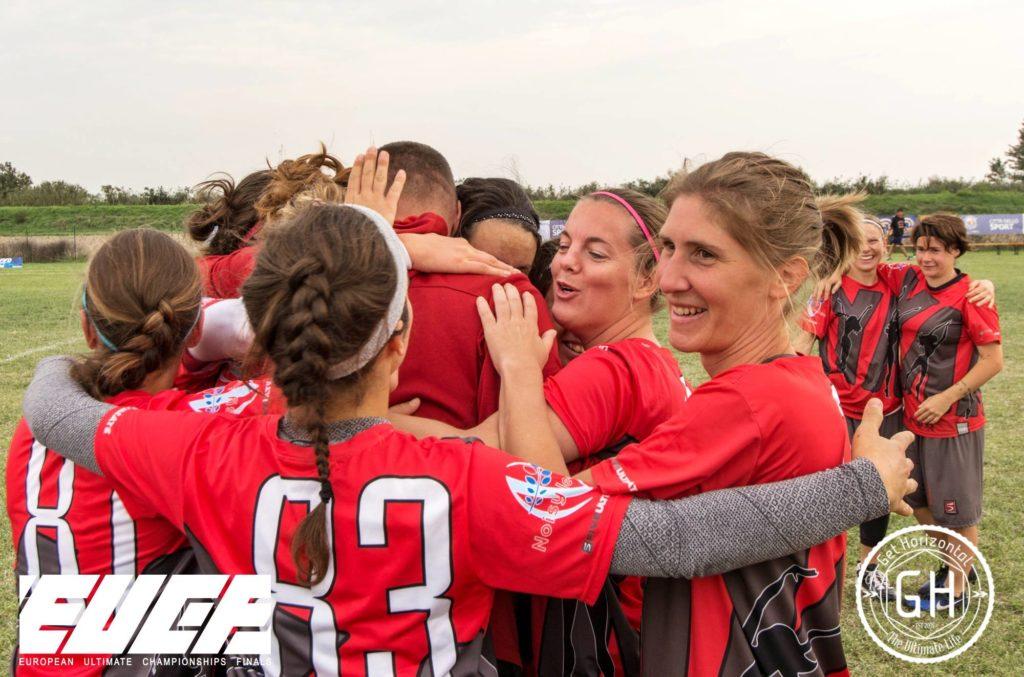 Klubowe Mistrzostwa Europy w Ultimate - drużyna women YAKA