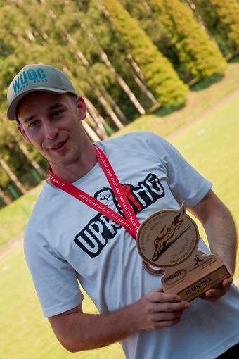 Dominik Dobranowski trener kadry Men na Mistrzostwa Europy w ultimate frisbee