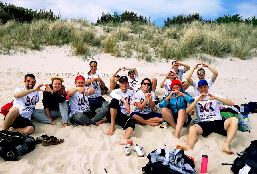 BC Kosmodysk na plażowym Goldstrand