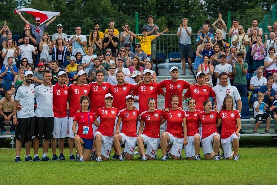 Reprezentacja Polski w ultimate frisbee na twg