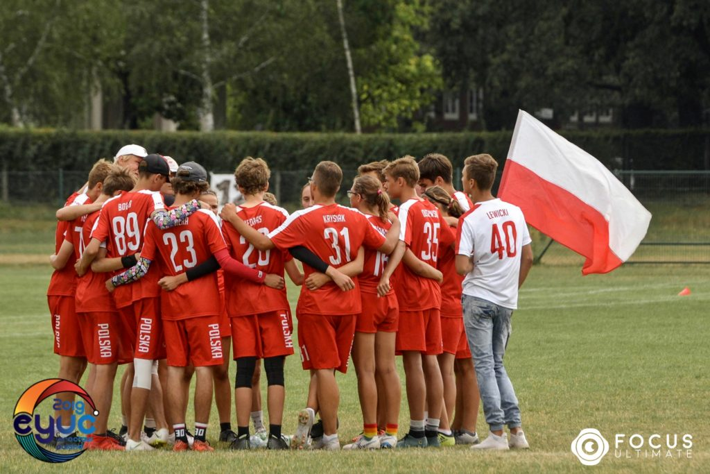 Polska - ultimate frisbee